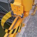 Système full stop pour portique de manutention motorisé