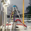 Tipode aluminum pour levage de pompe
