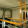Monorail sous chandelles spéciales