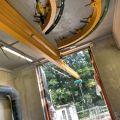 Monorail télescopique en acier