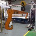Palonnier de levage acier type porte-bobine