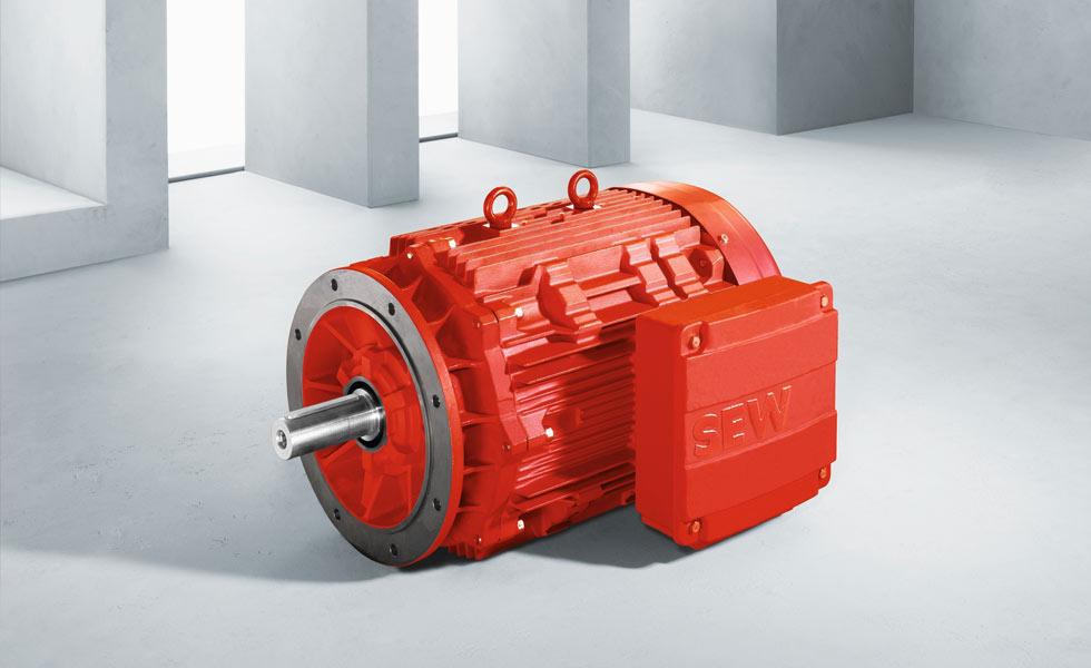 Large range of electric SEW USOCOME motors