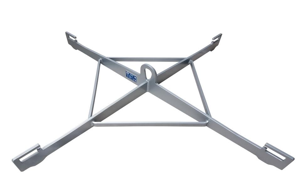 Palonnier de levage pour soulever des big bag. Fabrication en acier, aluminium ou Inox