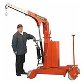 Industrial crane HB-GS with pivoting arm