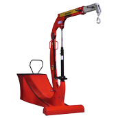 Small counterweight ITI crane