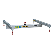 Aluminium lifting spreader beam