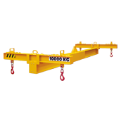 Steel lifting spreader beam