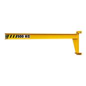 PMI underbraced steel wall jib cranes